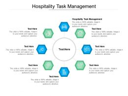 Hospitality Task Management Ppt Powerpoint Presentation Icon Maker Cpb