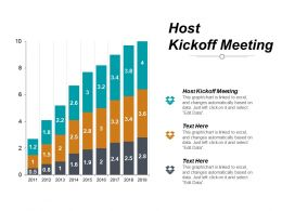 Host Kickoff Meeting Ppt Powerpoint Presentation Slides Structure Cpb