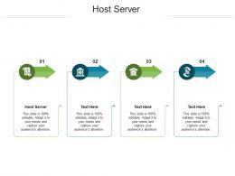 Host Server Ppt Powerpoint Presentation Ideas Cpb