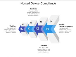 Hosted Device Compliance Ppt Powerpoint Presentation Slides Cpb