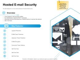Hosted E Mail Security Ppt Powerpoint Presentation Visual Aids Example 2015