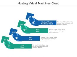 Hosting Virtual Machines Cloud Ppt Powerpoint Presentation Styles Skills Cpb