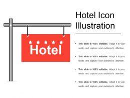 Hotel Icon Illustration