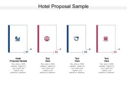 Hotel Proposal Sample Ppt Powerpoint Presentation Icon Vector Cpb