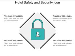 Hotel Safety And Security Icon 3