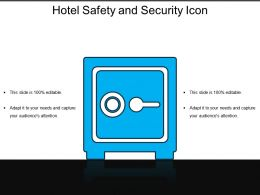 Hotel Safety And Security Icon 4