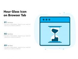 Hour Glass Icon On Browser Tab