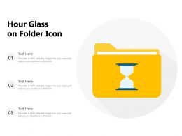 Hour Glass On Folder Icon