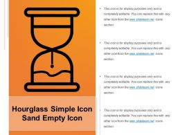Hourglass Simple Icon Sand Empty Icon