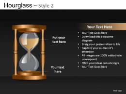 Hourglass Style 2 Powerpoint Presentation Slides DB