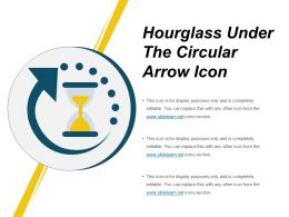 Hourglass Under The Circular Arrow Icon