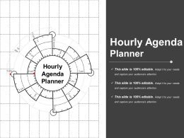Hourly Agenda Planner Ppt Example File