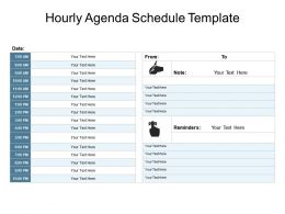 Hourly Agenda Schedule Template Powerpoint Guide