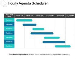 Hourly Agenda Scheduler Presentation Slides