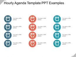 Hourly Agenda Template Ppt Examples