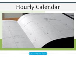 Hourly Calendar Employee Appointments Introduction Planning Scheduling