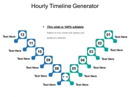 Hourly Timeline Generator Presentation Examples