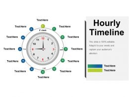 Hourly Timeline Presentation Visual Aids