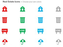 house_apartment_signboard_umbrella_ppt_icons_graphics_Slide02