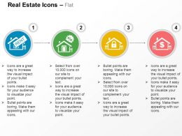 House For Rent Discount Property Secured Savings Ppt Icons Graphics