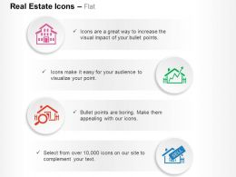 House Growth In Property Rates Searching The Best Home Sale Ppt Icons Graphics