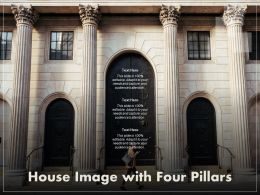 House Image With Four Pillars