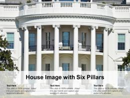 House Image With Six Pillars
