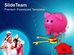House Key Family PowerPoint Templates PPT Themes And Graphics 0213