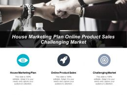 House Marketing Plan Online Product Sales Challenging Market Cpb