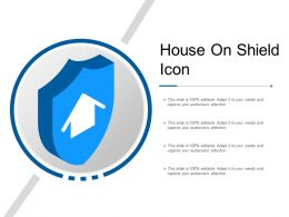House On Shield Icon