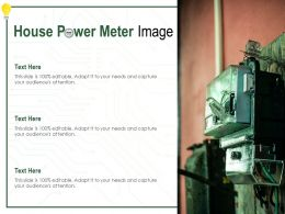 House Power Meter Image