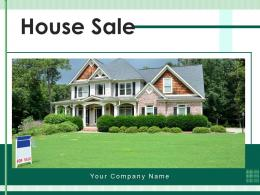 House Sale Independent Finalizing Currency Square Signboard Circle