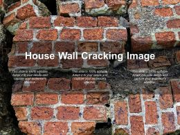 House Wall Cracking Image