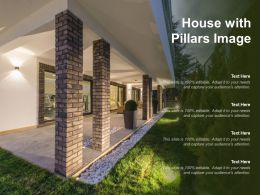 House With Pillars Image