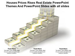 Houses Prices Rises Real Estate Powerpoint Themes And Powerpoint Slides With All Slides