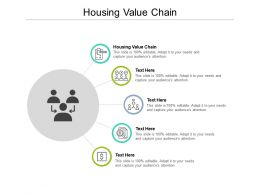 Housing Value Chain Ppt Powerpoint Presentation Inspiration Picture Cpb