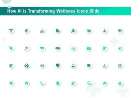 How AI Is Transforming Wellness Icons Slide Ppt File Design