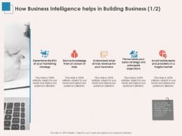How Business Intelligence Helps In Building Business Strategy Ppt Powerpoint File