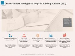 How Business Intelligence Helps In Building Business Trends Ppt Powerpoint Tips