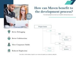 How Can Maven Benefit To The Development Process Better Collaboration Ppt Graphics
