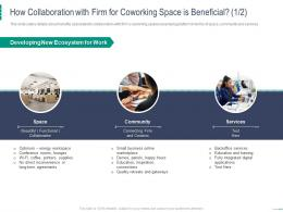 How Collaboration With Firm For Coworking Space Is Beneficial Space Coworking Space Investor