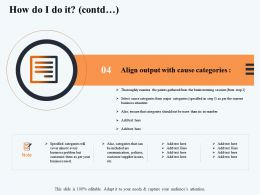 How Do I Do It Contd Ensure M2901 Ppt Powerpoint Presentation Ideas Brochure