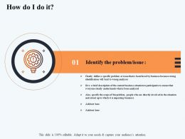 How Do I Do It Lead M2906 Ppt Powerpoint Presentation Gallery File Formats