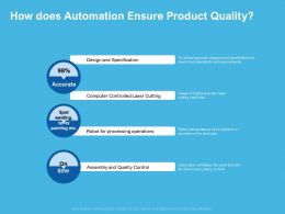 How Does Automation Ensure Product Quality Specification Ppt Presentation Tips