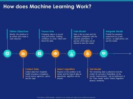 How Does Machine Learning Work Ppt Powerpoint Presentation Summary
