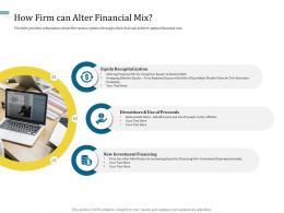 How Firm Can Alter Financial Mix Understanding Capital Structure Of Firm Ppt Template