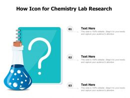 How Icon For Chemistry Lab Research