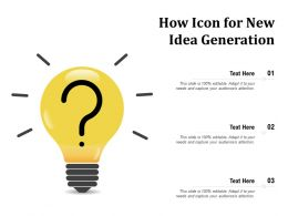 How Icon For New Idea Generation