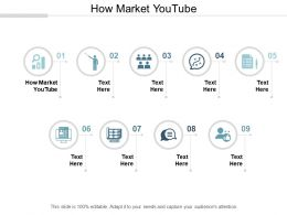 How Market Youtube Ppt Powerpoint Presentation Gallery Inspiration Cpb