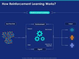 How Reinforcement Learning Works Ppt Powerpoint Presentation Show Designs